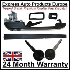 Door Handle with Lock & 2 Keys LEFT VW Golf MK1 MK2 Polo Scirocco