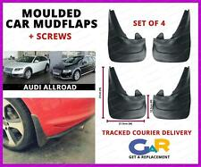 Rubbert Car Mud Flaps Splash guards set of 4 front and rear for Audi Allroad