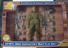 21st Century Toys The Ultimate Soldier WW2 3rd Infantry Battle Set 1:6  MIP!!