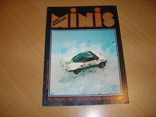 Minis Autos N°16 de février 1977 Traction 11 BL HI-FI