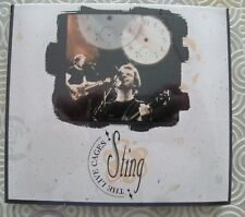 """STING """"THE LIVE CAGES"""" DOUBLE CD LIVE IN USA SOUL CAGES TOUR 1991/92 NEW SEALED"""