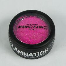 MANIC PANIC Glow Under Black Light Body Glitter ELECTRIC FUSCHIA SHOCK PINK NEW