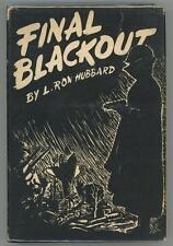 Final Blackout by L. Ron Hubbard- High Grade