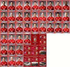 Británico e irlandés Leones tour de Sudáfrica 2009 tarjetas comerciales Rugby