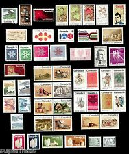 1971 Complete 1972 Part Year Set / Canada MNH Stamps