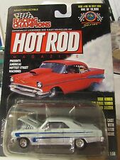 Racing Champions Hot Rod Magazine '66 Chevy Nova Limited Edition Issue #106