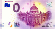 ITALIE Vaticano, 2018, Billet 0 € Souvenir