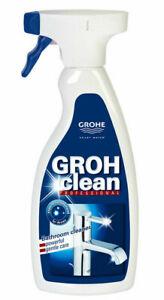 Grohclean Armaturen und Badreiniger 500ml Grohe Clean Bad Reiniger Kalklöser
