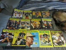 Green Bay Packers Year Book NFL Vintage Football Collectible Collection 14 Books