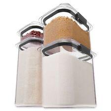 Rubbermaid Brilliance Dry Storage Set Pantry Organization Neat Easy Open