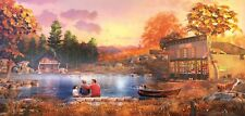 Generations General Store & Bait Shop Fishing Lake SunsOut puzzle 1000 pc 52050