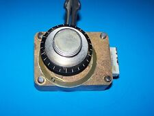 3 TUMBLER COMBINATION DIAL AND LOCK BRASS EARLY 1900'S