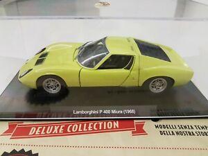 """Lamborghini Miura P400 """"Auto Vintage Collection"""" In Scala 1/24"""