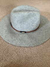 New Abercrombie and Fitch Womens Grey Floppy Hat