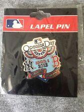 2013 Opening Day Pin #2 Yankee Stadium New York Yankees Boston Red Sox