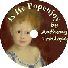 Is He Popenjoy? Anthony Trollope Classic Heir & Title Audiobook on 1 MP3 CD