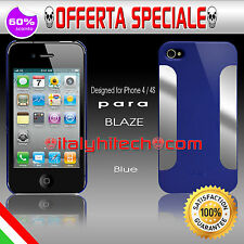 * Cover/Case/Bumper Para Blaze Vapor Blue x Apple iPhone 4s/4 PROMO *