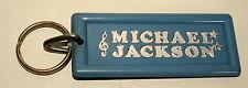 Vintage Michael Jackson Collectors Gray Color Plastic Key Chain 1980s NOS New