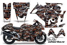Amr Racing Graphic Kit Suzuki GSXR 1300 Hayabusa GSX Busa Bike Decal Wrap HAZE O