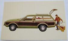 1973 Pinto Squire Station Wagon Postcard