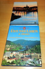 Usti Nad Labem A OKOLI CZECH Picture Book Books Are the SAME Copy