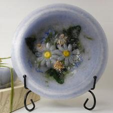 "Habersham Wax Pottery Bowl Lavender & Chamomile - 7"" Wax Vessel Flameless Usa"