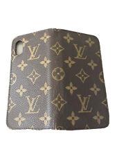 Original Louis Vuitton iPhone X / Xs Folio Hülle/ Tasche