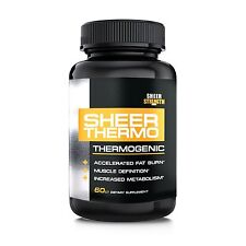 Sheer Strength Labs Sheer Thermo Fat Burner Thermogenic Weight Loss