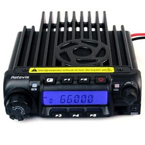 LOW BAND!!!  Brand new Retevis 70MHz Ham band mobile radios (66-88MHz)