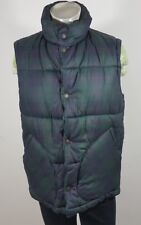 John Partridge handmade thick quilted gilet size M