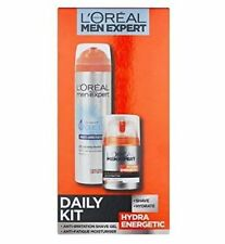 L'Oreal Paris Men Expert Hydra Energetic Daily Kit - SHAVE - HYDRATE