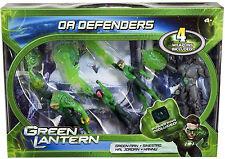 GREEN LANTERN Movie_OA DEFENDERS 4 pack__GREEN MAN_SINESTRO_HAL JORDAN_HANNU_MIB