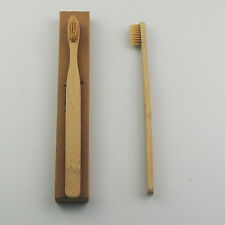 100PCS/Lot Bamboo Toothbrushes Soft Brush For Adult Oral Dental Care Wholesale