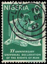 Nigeria 154 (Sg142) - Universal Declaration of Human Rights (pa86392)