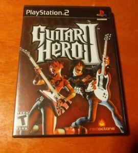 Guitar Hero II Sony PlayStation 2 PS2 RedOctane
