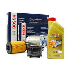 Kit tagliando BMW f20 120d, 118d, 116d, 125d BOSCH + olio CASTROL 5w30 6 litri