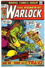 Warlock #4 (1973) Fine+ New Marvel Collection