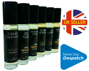 IMAAN 10ml PERFUME Oil BUY 2 GET 1 FREE Roll On MIX & MATCH. House of Fragrance