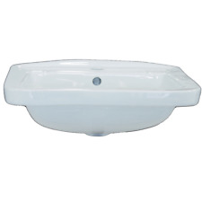 Lavabo Lavandino lavamani Sospeso quadro bagno  serie eco cm. 45 ceramica bianco