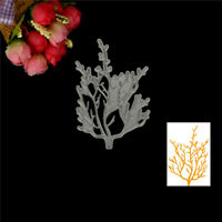 DIY Branch Design Metal Cutting Die For Scrapbooking Album Paper Cards#% LL