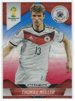 2014 Panini 1st Prizm World Cup #93 Thomas Muller Germany Red White Blue Wave