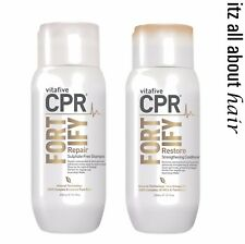 Vita 5 Vitafive CPR Fortify Shampoo, Conditioner 300ml Duo