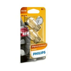 ampoule PHILIPS type de lampe W21/5W version ? douille W3x16d