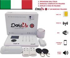 DadVu Kit allarme Wireless, WiFi 2.4 Ghz, GSM GPRS 3G combinatore telefonico