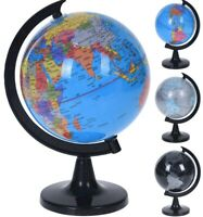 23cm World Globes Ornament Globe Home Decor Ornaments Black Blue & Grey