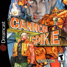 Cannon Spike Custom Sega Dreamcast Game.