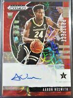 AARON NESMITH /88 AUTO 2020-21 Prizm Draft Picks ROOKIE RC RED SCOPE CELTICS BOS