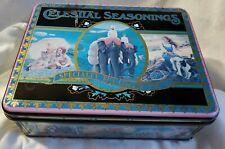 Celestial Seasonings Tea Large size tin Specialty Tea collection Elephant 1989