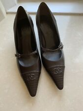 Chanel Shoes 39 Brown