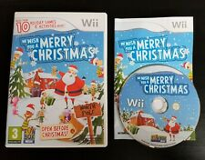 We Wish You A Merry Christmas - Nintendo Wii / Wii U - PAL - Free, Fast P&P!